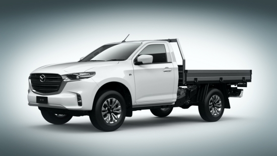 Some Mazda BT-50 fixes presented to the public